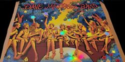 Foil Dave Matthews Band Raleigh Nc 2021 Poster In Hand Can Ship Tomorrow Flames