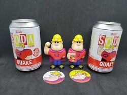 Funko Soda Ad Icons Quake Cereal Common/chase Pair 62.99 1/2,000 Free Shipping