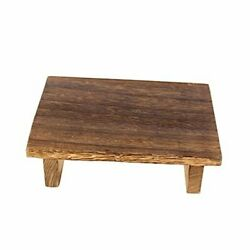 Vintage Wood Step Stool,wooden Bedside Step Stool Indoor And 9.8 X 7.1 X 2.8inch