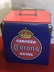 Cerveza Corona Extra Beer Cooler Insulated Party Ice Chest And Bottle Opener