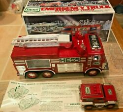 New 2005 Hess Oil Company Emergency Truck With Rescue Vehicle Lights And Sounds