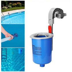 Swimming Pool Surface Automatic Skimmer Cleaning Floating Leaves Debris Tool