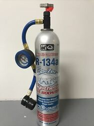 Sub-zero R134a Ac Refrigerant Single Can 18oz Recharge/refill With Hose And Gauge