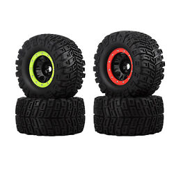 2x Rc Car Rubber Tire For Bush G5 E6 G2 Hpi Savage Hp 18 Rc Monster Parts