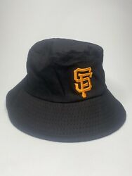 San Francisco Giants Embroidered All Black Bucket Hat Unisex Adult $14.99
