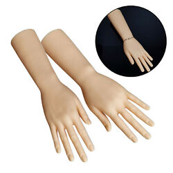 Durable Plastic Mannequin Hands Model For Jewelry Watches Display