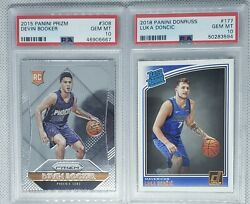 4 Card Psa10 Investment Lot Devin Booker Luka Doncic Trae Young And Ja Morant