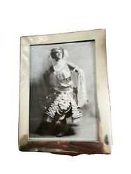 Silver Art Deco Fully Marked Andnbsppicture/photo Frame