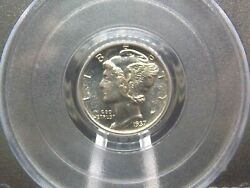 1937 Proof Mercury Silver Dime 10c Pcgs Pr65 East Coast Coin And Collectables, Inc