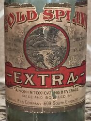Cold Spring Extra Prohibition Labeled Bottlelawrence, Mass