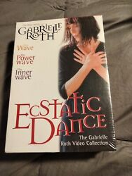 Ecstatic Dance - Gabrielle Roth Collection Dvd, 2004, 3-disc Box Set Rare Oop