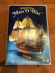 Revell 1/83 Elizabethan Man And039o War English Galleon - Checked And Complete
