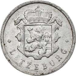 [130216] Coin, Luxembourg, Jean, 25 Centimes, 1963, Vf20-25, Aluminum