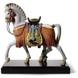 Lladro The White Horse Of Hope Figurine 01008577
