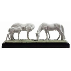Lladro Horses In The Meadow Figurine 01008699