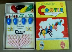 Vtg 200 The Game Of Cootie Blue Heads / Complete 1949 Schaper Mfg Co Usa