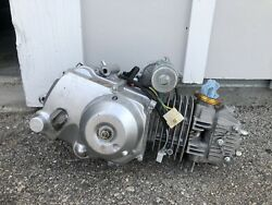 125cc Engine Semi Auto Transmission Reverse Electric Start For Atvs - As Is