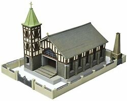 Tomytec N Scale 1/150 The Building Collection 052-2 Church C2 F/s W/tracking
