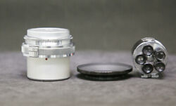 [fedex]carl Zeiss Biogon 21mm F4.5 Contax Mount Lens With Zoom Finder 21135mm