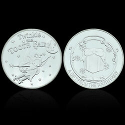 Twinkle Tooth Fairy Silver Plated Coin Commemorative Coin Art Metal Craft Gift