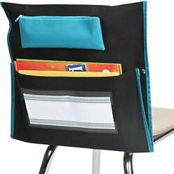 Really Good Stuff Deluxe Chair Pockets – Set Of 6 – Classroom Chair Organizer...
