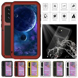 Waterproof Heavy Duty Metal Case Screen Cover For Samsung Galaxy A52 4g / 5g