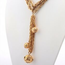 Vintage Necklace Gold Plated Gold