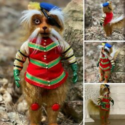 Sir Didymus From The Labyrinths Cute Foxes Terrier Doll Toy Ludo Friend Plush