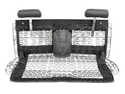1969-1970 Chevy Impala 4-door Front Bench Seat With Seat Tracks Restored