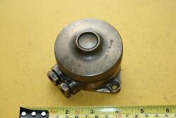 Vintage Brass Narrow Boat Lorry Engine Starter Horn Button Door Bell Lifeboat