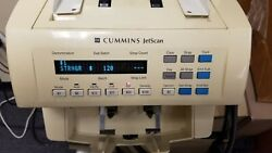 Used - Cummins Jetscan 4062 Currency Money Bill Counter 406-9702-00