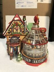 M Andm 2004 Dept 56 North Pole Candy Factory Lighted And Animated