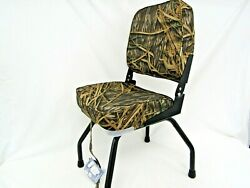Wise Removable Black Seat Stand And Low Back Camo Boat Seat Fishing Stand