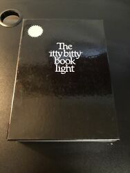 New Vintage 1982 Zelco The Itty Bitty Book Light New Old Stock-complete
