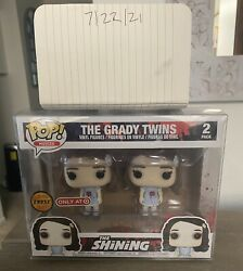 Funko Pop Movies 2-pack The Shining Grady Twins Chase Target Exclusive Figures