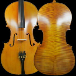 Rare Professional Song Master Cello4/4hand Madehuge And Powerful Sound14829