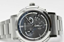 Genuine Leather Belt With Buckle Included Citizen Series Eco Drive Men's