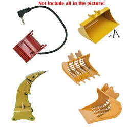 Metal Excavator Changer Automatic Bucket Accessories Ripper For Huina 580 Rc