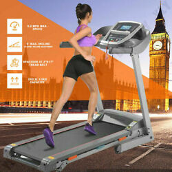 Caroma Treadmill 3.25 Hp Folding Treadmill With Incline With Shock-absorbing A