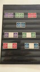 Israel Stamps 1949 Tete Beche Pairs 2nd Coins Mnh