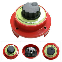 Dual Battery Selector Switch Fishing Boat Rv Semi 8501 1 2 On Off 50v Auto Car