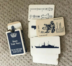 Know Your Navy - Navy Careers Service Recognition Cards - Complete