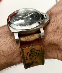 Watches Handmade Soft Leather Strap 24mm With Buckle Included