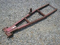 Wheel Horse Garden Tractor Snow Plow Frame Only Fits B,c Series 300 400