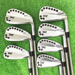 Secondhand Pxg 0311t Iron Pieces Set 4-9 Steelfiber I110cw Non-work On Behalf Of