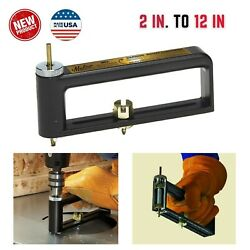 Sheet Metal Hole Cutter 2in To 12in Power Drill Tool Part Hvac Roofing Duct Work