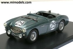 Austin Healey 100s 1956 Sebring 12 Hours Factory 29 143 White Metal Reduced