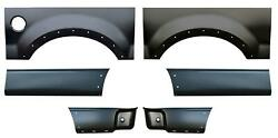 Wheel Arch And Front And Rear Lower Bed Kit 8' Bed For 04-08 Ford F150 Pickup Truck