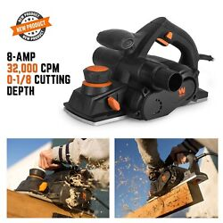 Hand Planer Power Tool Construction Electric Cord Cutter Wood Aluminum Carpentry