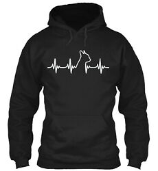 Teespring Boston Terrier Heart Classic Pullover Hoodie Poly Cotton Blend
